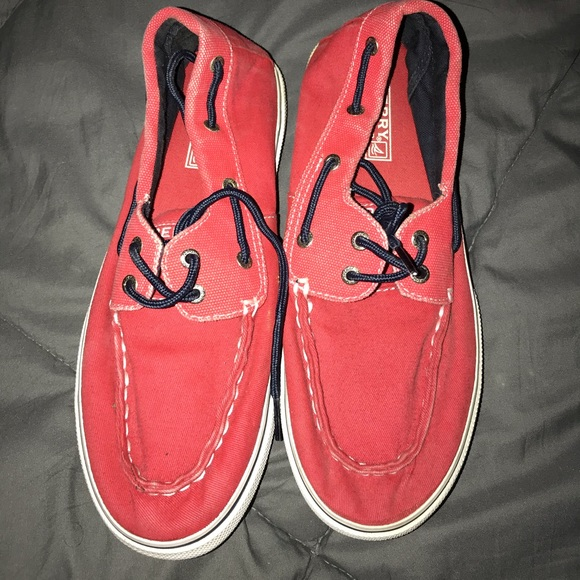 Sperry Shoes - Sperry red boat shoes NWOT boys size 5.5